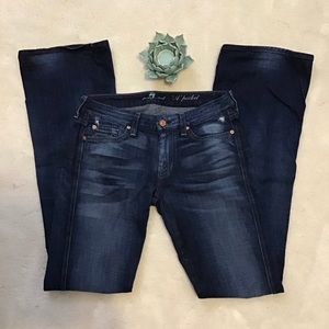 EUC 7 for All Mankind Bootcut A Pocket sz 28